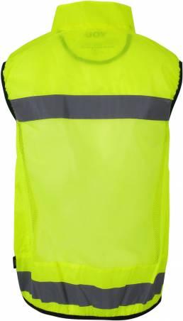 ID Sporty Safetyvest Elastisk piping i ærmer og linning. Mesh på ryg Unisex