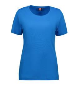 ID Kortærmet interlock T-shirt dame turkis
