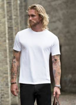 ID Klassisk Unisex T-shirt med rund hals unisex