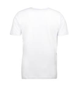 ID Kortærmet interlock T-shirt i blød antipillingkvalitet herre hvid