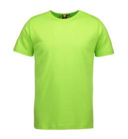 ID Kortærmet interlock T-shirt i blød antipillingkvalitet herre lime