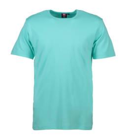 ID Kortærmet interlock T-shirt i blød antipillingkvalitet herre mint