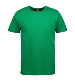 ID Kortærmet interlock T-shirt i blød antipillingkvalitet herre grøn