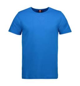 ID Kortærmet interlock T-shirt i blød antipillingkvalitet herre turkis
