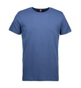 ID Kortærmet interlock T-shirt i blød antipillingkvalitet herre indigo