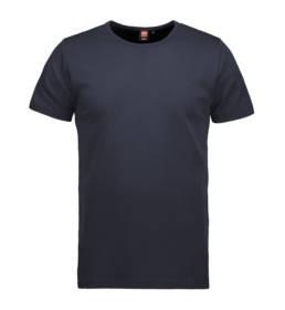 ID Kortærmet interlock T-shirt i blød antipillingkvalitet herre navy