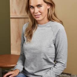 ID Sweatshirt med rund hals dame