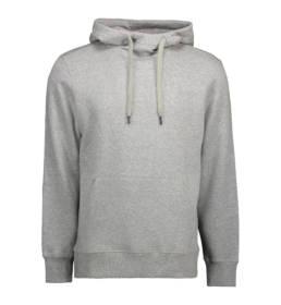 ID hoodie herre grå melange