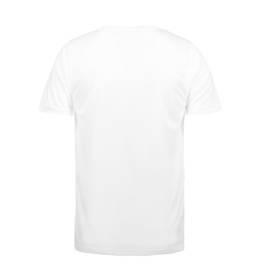 ID Funktionel T-shirt Svedtransporterende, åndbar og hurtigttørrende til børn hvid