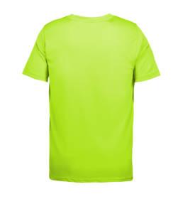ID Funktionel T-shirt Svedtransporterende, åndbar og hurtigttørrende til børn lime