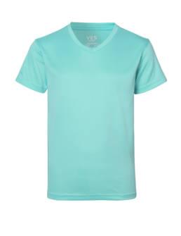 ID Funktionel T-shirt Svedtransporterende, åndbar og hurtigttørrende til børn mint