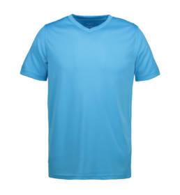 ID Funktionel T-shirt Svedtransporterende, åndbar og hurtigttørrende til børn blå