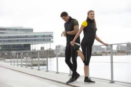 ID Geyser Velsiddende ultra letvægt, vind og vandafvisende løbejvest