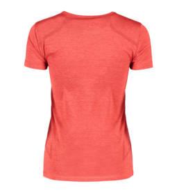 ID Geyser seamless Performance T-shirt dame rød melange