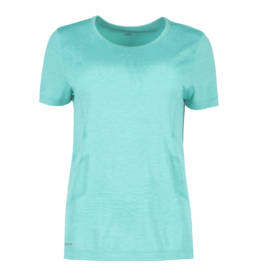 ID Geyser seamless Performance T-shirt dame mint melange