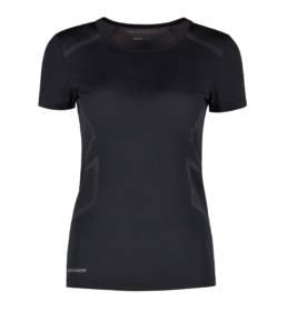 ID Geyser seamless Performance T-shirt dame sort