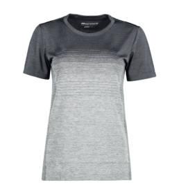 ID Geyser seamless Stribet T-shirt dame grå