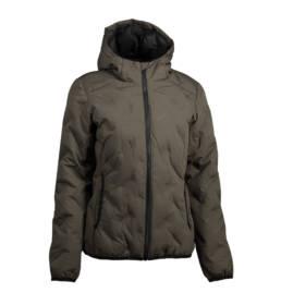 ID Geyser Smart og sporty jakke til hverdag eller aktiv fritid dame oliven melange