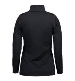 ID Geyser Langærmet og højhalset trøje svedtransporterende kvalitet dame sort