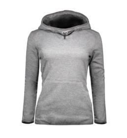 ID Geyser Urban hoodie dame grå melange