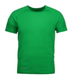 ID Kortærmet T-shirt i tyndt svedtransporterende mikrofibermateriale T-shirten er figursyet og sidder derfor tæt til kroppen herre grøn