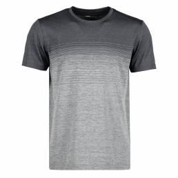 ID Geyser seamless Stribet T-shirt herre grå
