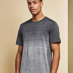 ID Geyser seamless Stribet T-shirt herre