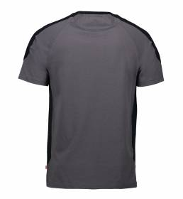 ID PRO Wear T-shirt kontrast herre grå