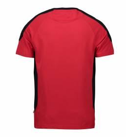 ID PRO Wear T-shirt kontrast herre rød