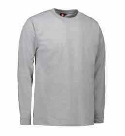 ID PRO Wear T-shirt langærmet herre grå melange
