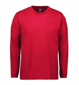 ID PRO Wear T-shirt langærmet herre rød