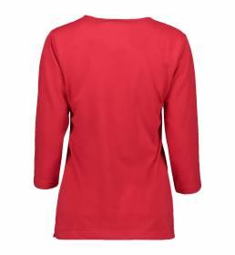 ID PRO Wear T-shirt 3/4-ærmet dame rød