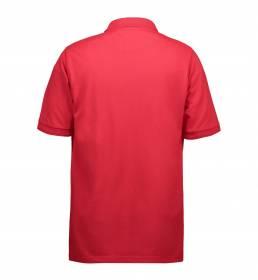 ID PRO Wear poloshirt uden lomme herre rød