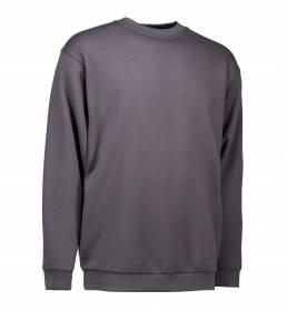 ID PRO Wear klassisk sweatshirt sølv grå