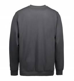 ID PRO Wear klassisk sweatshirt koks grå