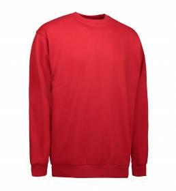 ID PRO Wear klassisk sweatshirt rød