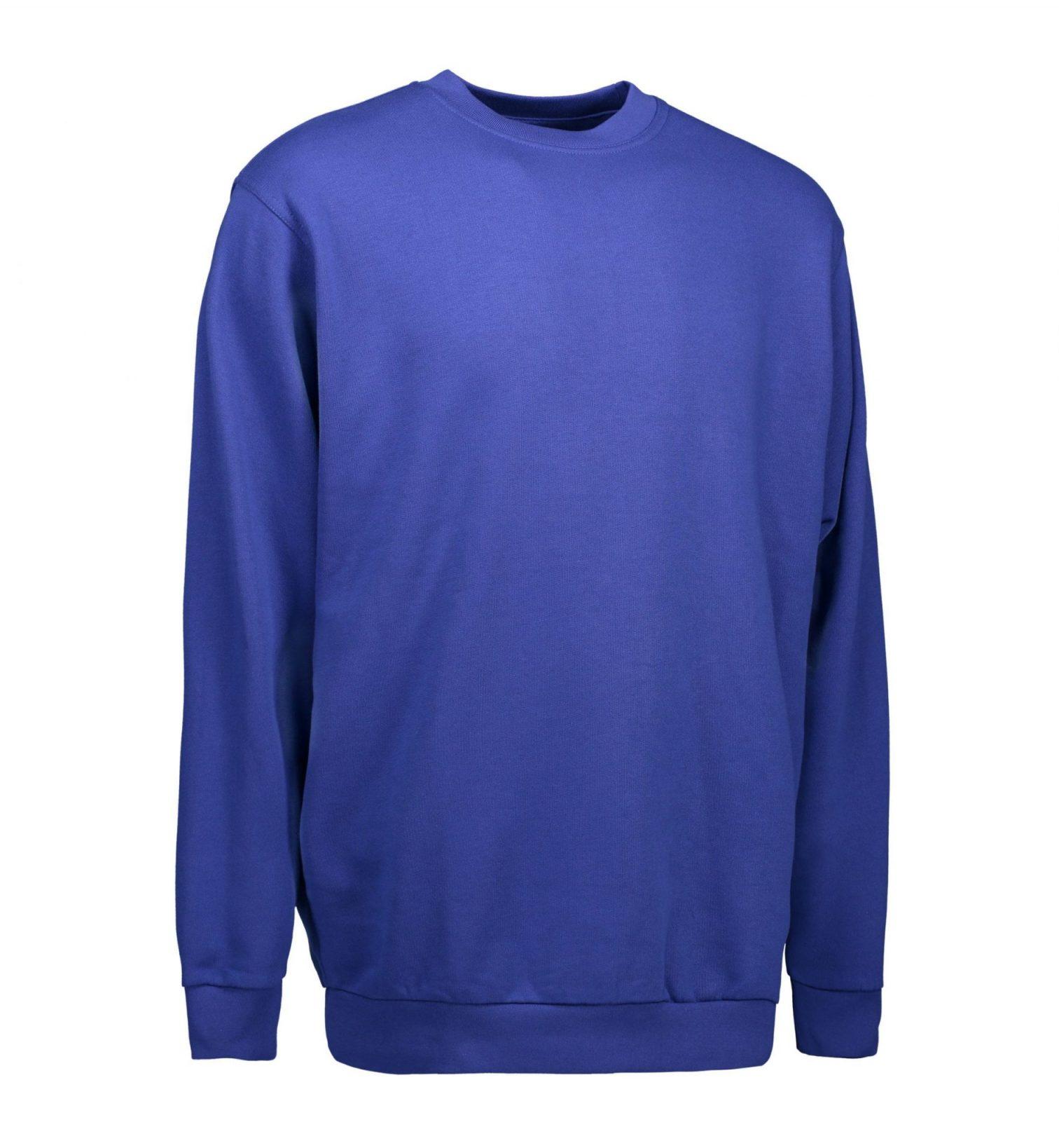 ID PRO Wear klassisk sweatshirt kongeblå