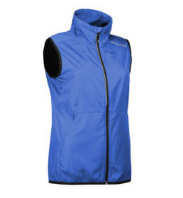 ID Geyser Velsiddende ultra letvægt, vind og vandafvisende løbejvest dame blå