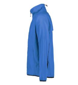 ID Geyser Velsiddende ultra letvægt, vind og vandafvisende løbejakke herre blå