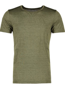 ID Geyser seamless Performance T-shirt herre oliven melange
