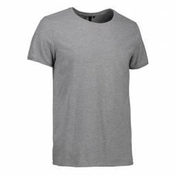 ID T-shirt med rund hals herre grå melange