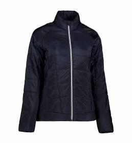 ID Quiltet letvægtsjakke kontrast dame navy