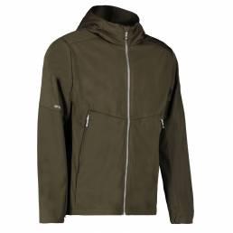ID Letvægts softshell jakke i ID Tech® herre oliven