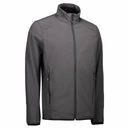 ID Funktionel, stilren soft shell-jakke i tre-lags ID Tech® herre grå