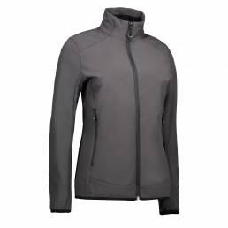 ID Funktionel, stilren soft shell-jakke i tre-lags ID Tech® dame grå