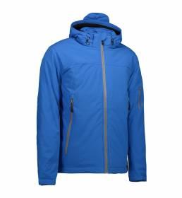 ID Funktionel vinter soft shell-jakke vind- og vandafvisende egenskaber herre blå