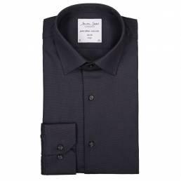 Seven Seas Slim Fit Elegant business-skjorte non iron-kvalitet herre koks grå