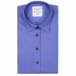 Seven Seas Mod Fit Elegant business-skjorte non iron-kvalitet Dame french blue