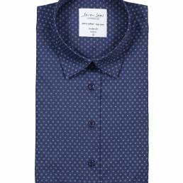 Seven Seas Skjorte med print Easy Care-kvalitet dame