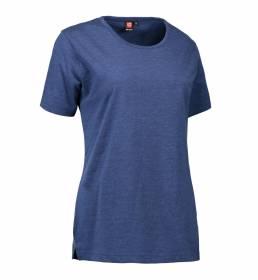 ID PRO Wear T-shirt dame blå melange
